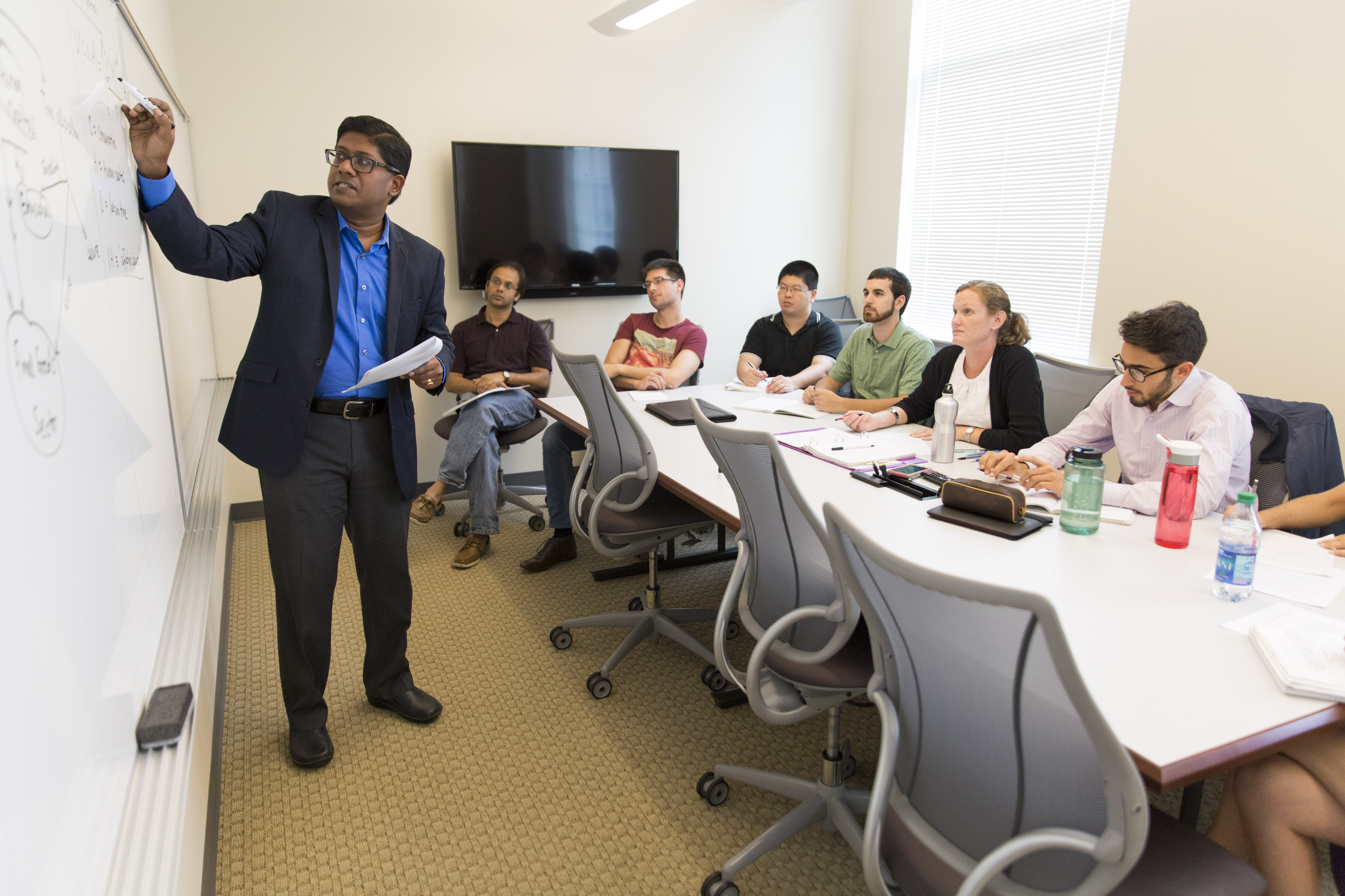 Santanu Chatterjee, associate professor of economics in the Terry College of Business, is one of three recipients this year of the University's highest teaching honor this year, the Josiah Meigs Distinguished Teaching Professorship.