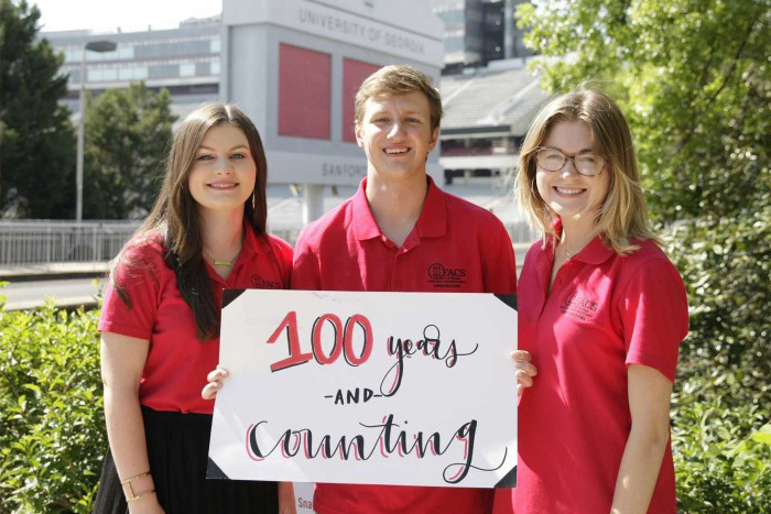 UGA's College of Family and Consumer Sciences is celebrating its centennial anniversary this year with a series of events that highlight its role in advancing health, well-being and economic vitality.