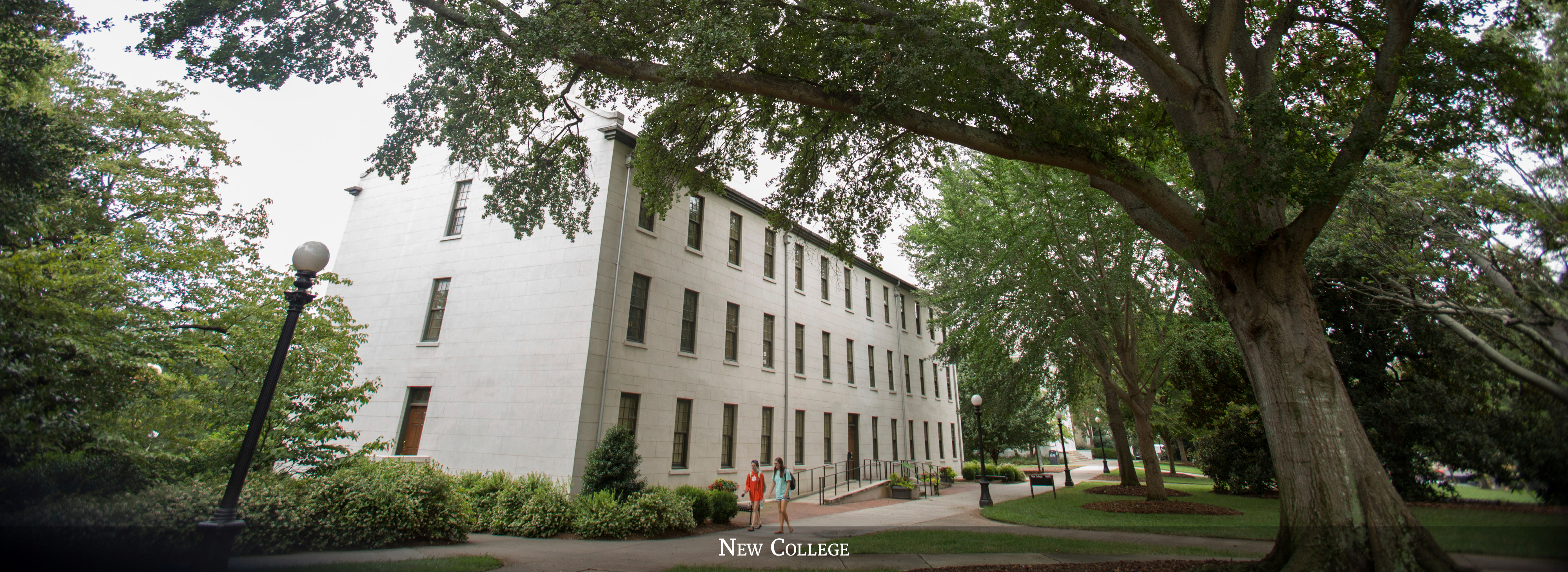 The Office of Faculty Affairs is located in New College on historic North Campus.