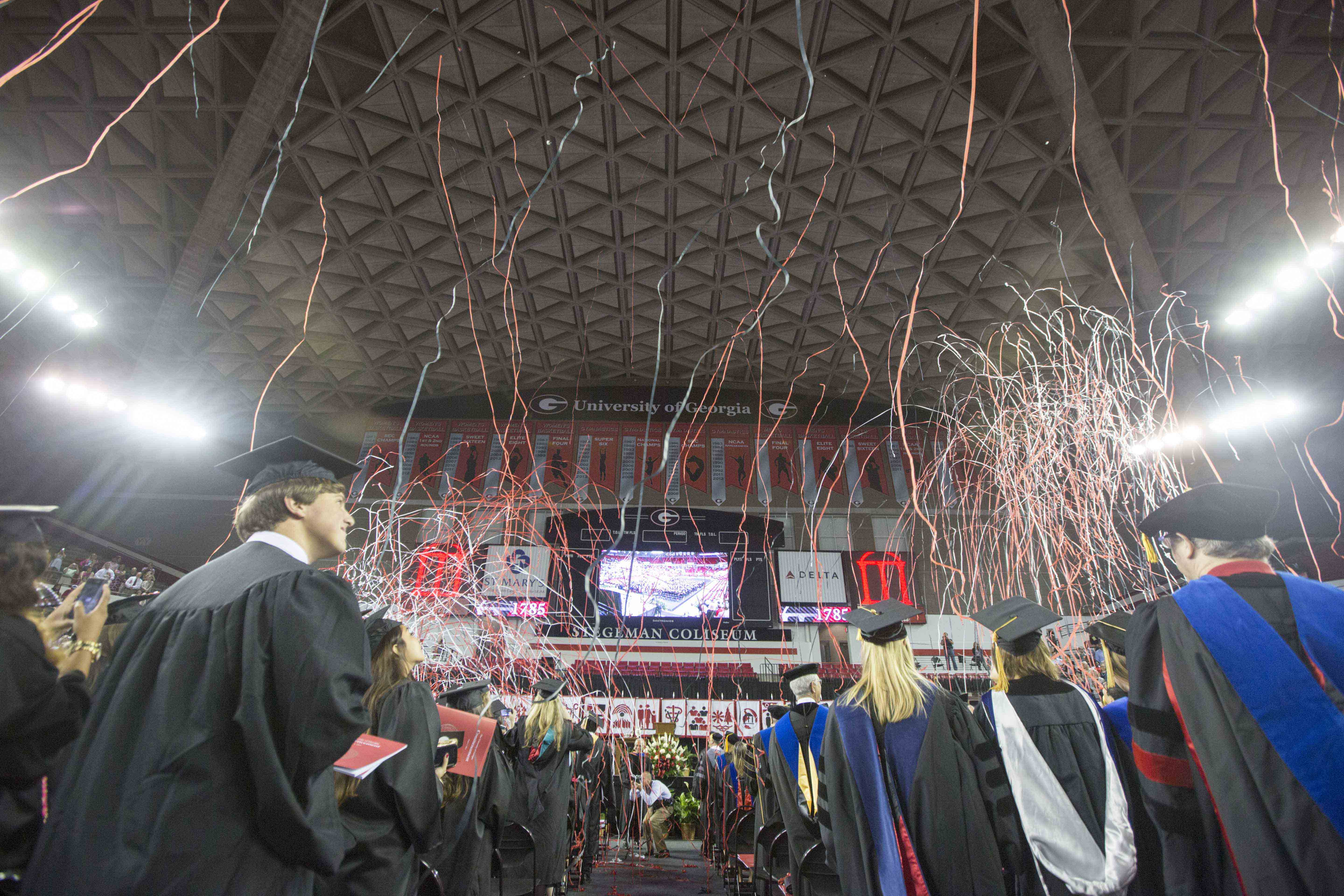 More than 2,800 students will join UGA's Class of 2017 this Friday at undergraduate and graduate Commencement ceremonies.